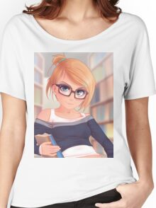 Library Girl Women's Relaxed Fit T-Shirt
