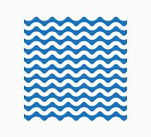 Blue and White Waves Unisex T-Shirt