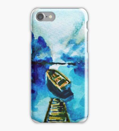 Blue serenity iPhone Case/Skin