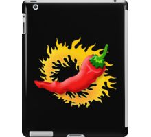 Pepper with flame iPad Case/Skin