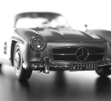 Mercedes 300SL Gullwing Poster by Lynchie