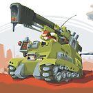Desert Tank by Sven Ebert