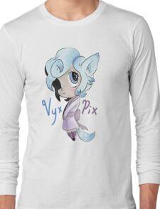 Vyxi the Chibi Fox Girl Long Sleeve T-Shirt