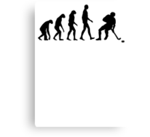 Evolution Hockey Canvas Print