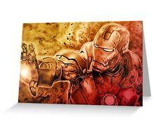 I am Ironman Greeting Card