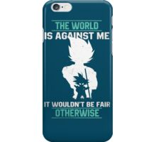 The World is Against Me iPhone Case/Skin