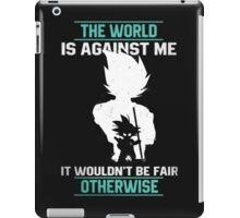 The World is Against Me iPad Case/Skin