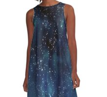 Night Sky A-Line Dress