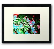 LSD definition of happiness Framed Print