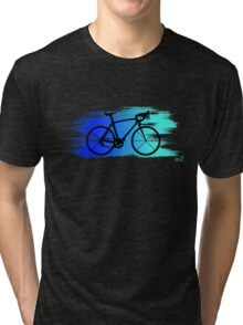 Bike speed blue Tri-blend T-Shirt