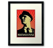 Resistance is Futile - Fringe Observer  Framed Print