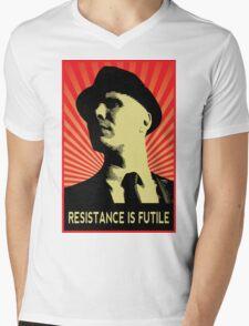 Resistance is Futile - Fringe Observer  Mens V-Neck T-Shirt