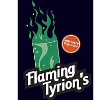 Flaming Tyrion's Photographic Print
