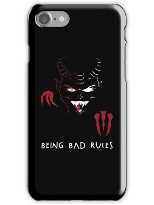 Being Bad Rules [BLACK] by Daniel Bevis