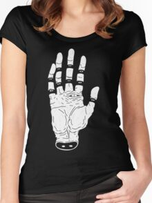 THE HAND OF ANOTHER DESTYNY Women's Fitted Scoop T-Shirt
