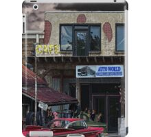 Auto World iPad Case/Skin