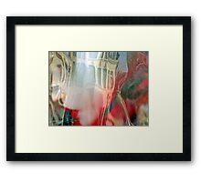 réflexion d'elle -Lille-628-0716 Framed Print
