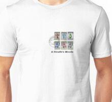 A Giraffe's Moods Unisex T-Shirt