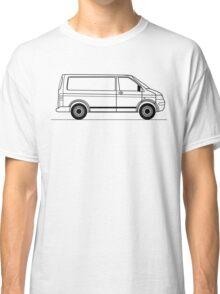 T5 Transporter line art side view Classic T-Shirt
