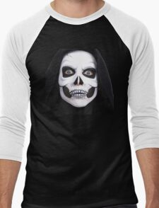 Ghost in Halloween - Halloween gift - Awesome in Halloween day Men's Baseball ¾ T-Shirt