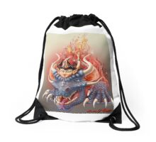 Dragon Sorceress Drawstring Bag