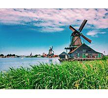amazing windmills Photographic Print