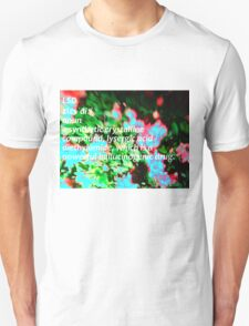 LSD definition of happiness Unisex T-Shirt