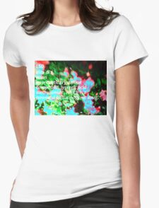 LSD definition of happiness Womens Fitted T-Shirt