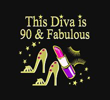 90 YR OLD DIVA Women's Relaxed Fit T-Shirt