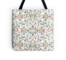 Ornamental lace tracery Tote Bag