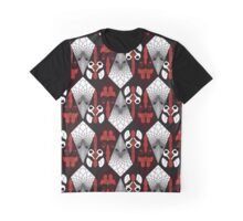 Chicken Pattern Graphic T-Shirt