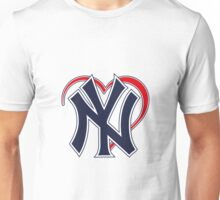 I love New York Yankees Unisex T-Shirt