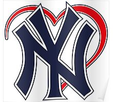 I love New York Yankees Poster