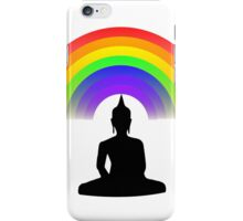 Buddha Rainbow Meditation iPhone Case/Skin