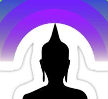Buddha Rainbow Meditation Sticker