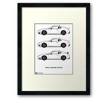 Subaru BRZ/Scion FR-S/Toyota 86  Framed Print