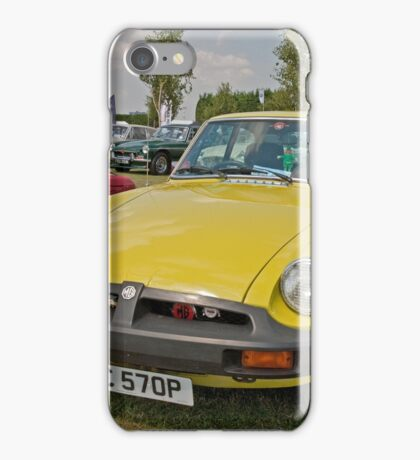 MG  GT 1798cc 1976 iPhone Case/Skin