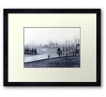 Mist Framed Print