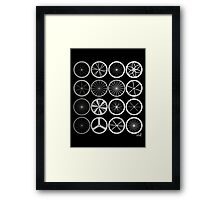 Wheels land corporation Framed Print