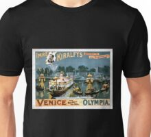 Performing Arts Posters Imre Kiralfys greatest of all spectacles Venice the bride of the sea at Olympia 1529 Unisex T-Shirt