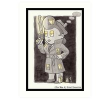(She Was A) Hotel Detective Art Print