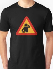 Danger DJs at Work Unisex T-Shirt