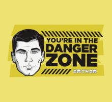 Sterling Archer You're in the Danger Zone Kids Tee