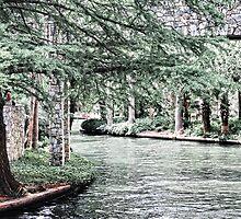 San Antonio River Walk by designingjudy