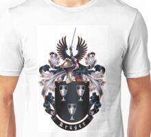 Krüger Coat of arms (white background) Unisex T-Shirt