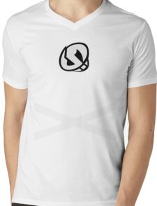 Team Skull (Design) Mens V-Neck T-Shirt