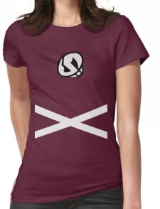 Team Skull (Design) Womens Fitted T-Shirt