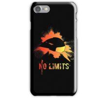 Fire helmet no limits iPhone Case/Skin