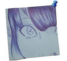 Post-it doodle Project ~ Original (04) Photographic Print
