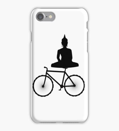 Buddha on a Bicycle iPhone Case/Skin